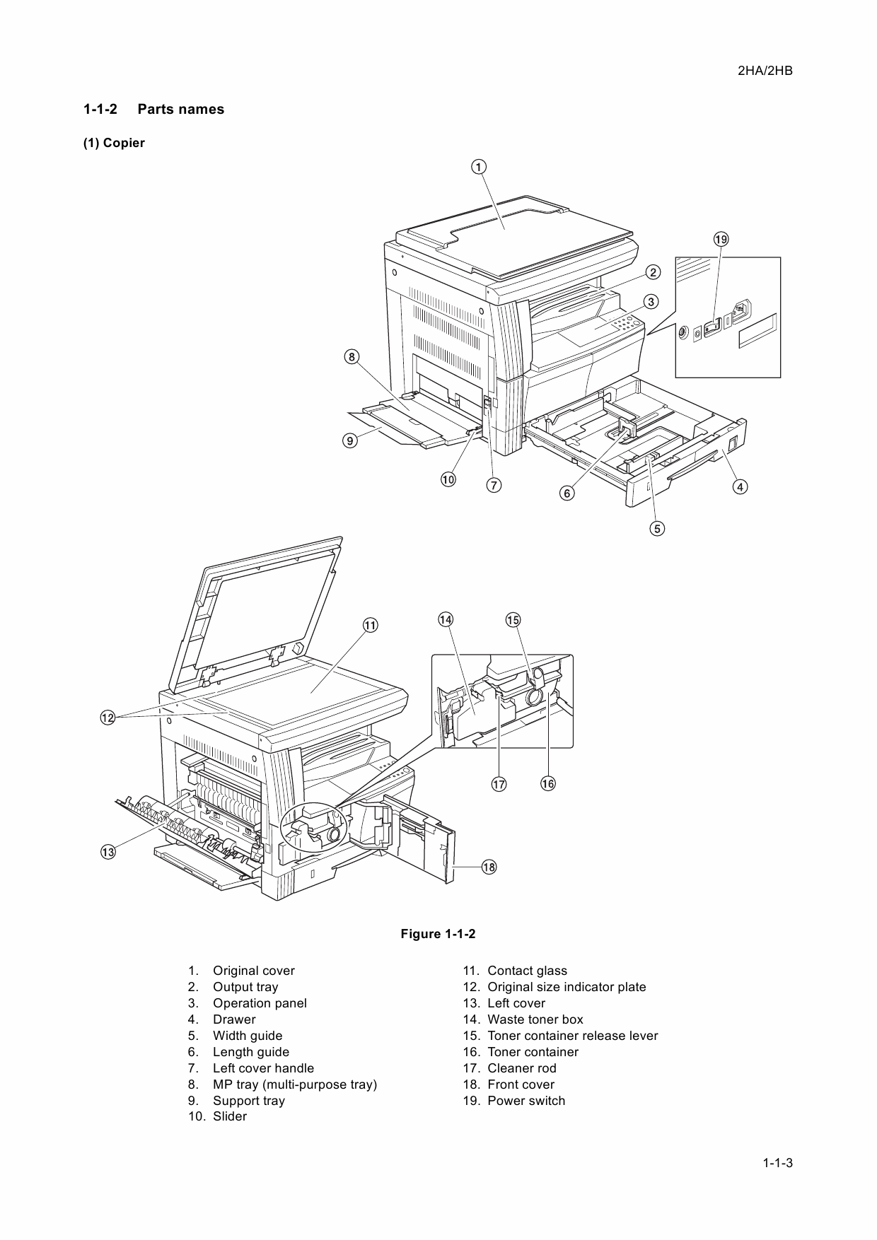 KYOCERA Copier KM-1635 2035 Service Manual
